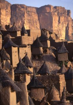 Tireli, along the Dogon cliffs of Mali.