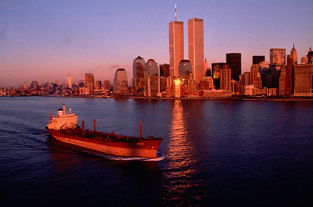 New York Harbor and the World Trade Center
