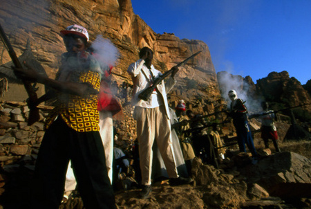 Dogon funeral in Ireli, Mali